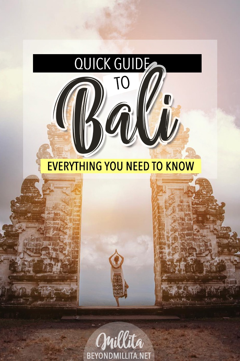 first time bali